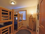 The Cubs Den - two bunks with four twin beds