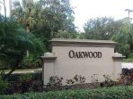 Oakwood Entrance