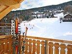 Balcony winter