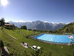 Nendaz swimming pool