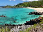 Waimea Bay – Surf and Swim at the bay or jump from the big rock.