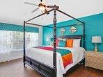 Aladdin master suite, king bed, 43' Smart HDTV, oversized upgraded ensuite