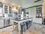 Cook like a gourmet chef in this newly upgraded fully equipped kitchen!