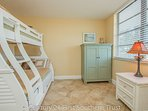 Guest Bedroom with Trundle Bunk Bed