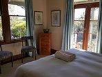 Main bedroom cottage. Super King bed.