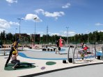 This great playground is just 200 meters away.