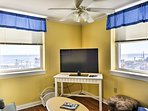 This condo features 3 flat-screen TVs to enjoy during the downtime.