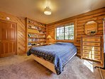 The second master bedroom provides a queen bed and en-suite bathroom.