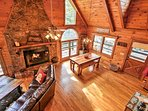 Step inside this rustic respite and feel your cares melt away.