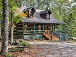 This 2-acre property is nestled within the picturesque Blue Ridge area.