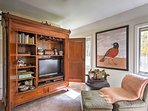 Both master suites offer sitting areas with Satellite TVs.