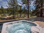 Incredible Views from Hot Tub