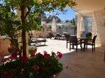 Main poolside terrace