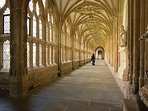Wells Cathedral - The Cloisters.
