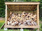 Unlimited dried/stacked firewood (fee is $10/night and added to every booking)