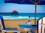 Located on the Sand in Huntington Beach, California