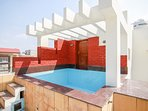 Our Hydrotherapy pool on roof top