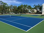 Brand New Tennis/Pickle/Basket Ball Courts