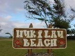 Hukilau Beach Park – Go swimming, surfing and body boarding in this beautiful beach.