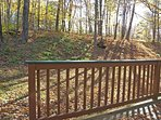 Deck and Yard in Autumn