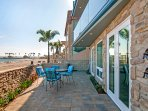 Large patio with BBQ to enjoy the beautiful San Diego climate