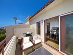 Comfortable balcony with BBQ