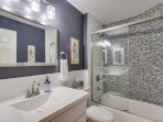 Ground Floor Bath with shower / tub