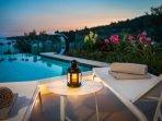 Luxury villa with infinity swimming pool, Ciovo