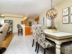 Open floorplan - living, dining, kitchen