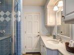 Ground floor bathroom with shower