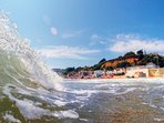Shanklin Beach is nearby our newly refurbished apartments