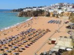 Your nearest beach at Albufeira