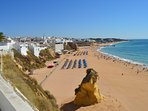 Albufeira Old Town beach