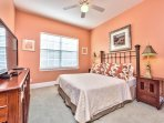 Queen Bedroom With Flat Screen TV; Nicely Decorated;