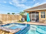 Private Pool; Pool Heat Optional Add-On. Enjoy Sunny Naples at the Pool!