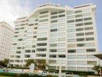 Marbella Condominium from the outside.