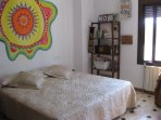 Habitacion Sol, con cama KingSize, convertibles en 2 de 90 cm.