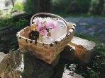 Desayunos personalizados, servidos en cestas