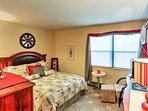 Retreat to the comfort of the cozy bedroom.