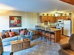Comfortably sleeping up to 4 guests, this condo provides all of the amenities of home.