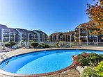 A peaceful retreat on the shores of Lake Erie awaits when you book this Port Clinton vacation rental condo.