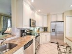 You will love preparing tasty home-cooked meals in the bright eat-in kitchen