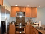 Fully equipped kitchen with everything you need for the perfect vacation