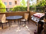 Patio with BBQ Grill
