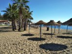Some wonderful beaches nearby, awarded safest in Andalucia