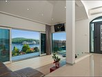 Luxury sea view villa with pool for rent, Rogoznica