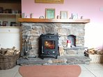 Blacksmith stove for comfort and cosy feel