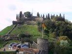 Hostalric pueblo medieval a 20 km