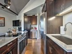 Prepare delicious homecooked meals in the fully equipped kitchen!