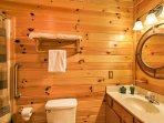 Each bedroom has its own en-suite bathroom.